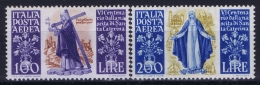 Italy 1948 Sa A146 - A147 , Mi 744 - 745 Postfrisch/neuf Sans Charniere /MNH/** - Poste Aérienne