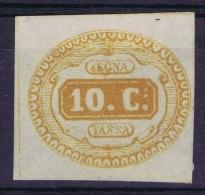 Italy  Sa 2, Mi  1 MH/* Flz/ Charniere - 1900-44 Vittorio Emanuele III