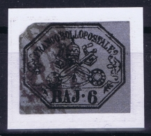 Italy  Stato Pontificio Sa Nr 7A  Mi 7D Obl./Gestempelt/used - Papal States