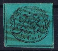 Italy  Stato Pontificio Sa Nr 16  Mi 14 Obl./Gestempelt/used - Papal States