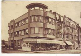 Cpa La Panne  Hotel Delporte - Belgique