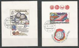 CZECHOSLOVAKIA - MNH - Space - Russia - CTO - Autres