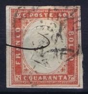 Italy  Sardegna Sa 16  Mi Nr 13   Double Frame    Obl./Gestempelt/used - Sardinia