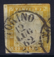 Italy  Sardegna Sa 17  Mi Nr 14  Obl./Gestempelt/used - Sardaigne