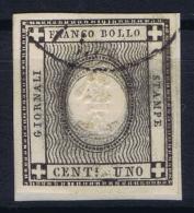 Italy  Sardegna Sa 19  Mi Nr 16 3 X Oval Printed  Obl./Gestempelt/used - Sardaigne