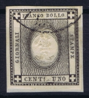 Italy  Sardegna Sa 19  Mi Nr 16 3 X Oval Printed  Obl./Gestempelt/used - Sardinia