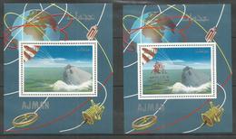 AJMAN - MNH - Space - Apollo 9 - Overprint - Autres