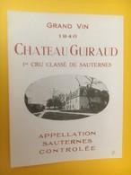 8300 - Château Guiraud 1946 Sauternes - Bordeaux