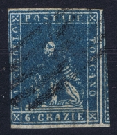 Italy  Toscana  Sa  15 Mi Nr 15    Obl./Gestempelt/used - Toskana