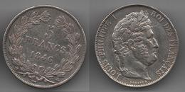 + FRANCE + 5 FRANCS 1846 BB + TRES BELLE + - France