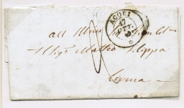 Italy   17  Letters And Covers  Prephilatelic Letters - Italië