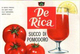B 1818 - Etichetta, De Rica - Frutta E Verdura