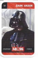 CARTE STAR WARS LECLERC 2018 - N° 10 - DARK VADOR - Star Wars