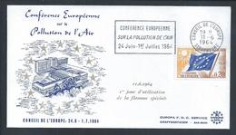 Air Pollution.Luftverschmutzung.European Conference On Air Pollution 1964.Europäische Konferenz über Luftverschmutzung. - Umweltverschmutzung