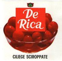 B 1820 - Etichetta, De Rica - Frutta E Verdura