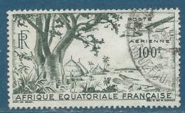 AEF   Aérien    Yvert N °  51 Oblitéré     -  Pa16608 - A.E.F. (1936-1958)