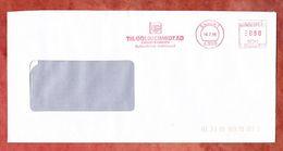 Brief, Pitney Bowes E70-0972, Goldschmidt Chemische Fabriken, 80 Pfg, Essen 1988 (51703) - Machine Stamps (ATM)