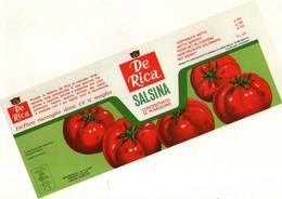 B 1821 - Etichetta, De Rica - Frutta E Verdura