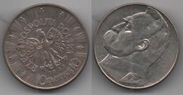 + POLOGNE     + 10 ZLOTYCH 1935 + - Polonia