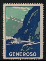 Suisse // Schweiz // Switzerland // Erinnophilie  // Vignette Generoso - Erinnophilie