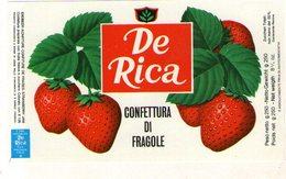B 1822 - Etichetta, De Rica - Frutta E Verdura