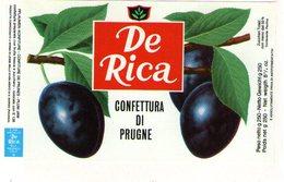 B 1823 - Etichetta, De Rica - Frutta E Verdura