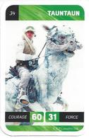 CARTE STAR WARS LECLERC 2018 - N° 34 - TAUNTAUN - Star Wars