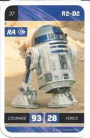 CARTE STAR WARS LECLERC 2018 - N° 37 - R2-D2 - Star Wars