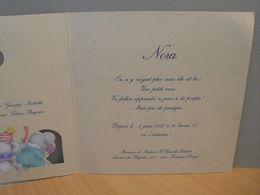 Carton De Naissance 1997 Fontaine L'Evêque - Unclassified