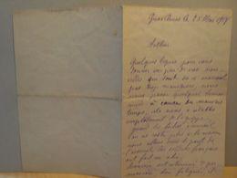 Lettre Manuscrite 1918 Gravelines - Unclassified
