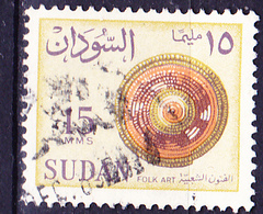 Sudan - Geflochtene Scheibe (MiNr: 181 X) 1962 - Gest Used Obl - Sudan (1954-...)