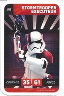 CARTE STAR WARS LECLERC 2018 - N° 59 - STORMTROOPER EXECUTEUR - Star Wars