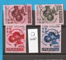 1941-1942  39-42   SERBIEN SERBIA SRBIJA  GERMAN OCCUPATION TEDESCA DEUTSCHE BESETZUNG   USED - Besetzungen 1938-45