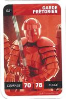 CARTE STAR WARS LECLERC 2018 - N° 62 - GARDE PRETORIEN - Star Wars