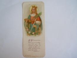 Image Pieuse Holy Card S Catharina Dominicus Julius De Herdt 1900 Priesterwijding Tongerloo 1ste Mis Rumpst - Devotion Images