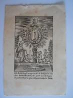 Image Pieuse Holy Card Devotie Prentje H. Gommarus Geeert In Lier Gravure Form. 9.5 X 14 Cm - Devotion Images