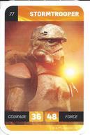 CARTE STAR WARS LECLERC 2018 - N° 77 - STORMTROOPER - Star Wars