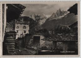 Soglio - Dorfbrunnen - Photo: P. Pomatti - GR Grisons