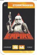 CARTE STAR WARS LECLERC 2018 - N° 83 - STORMTROOPER - Star Wars