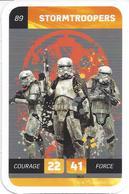 CARTE STAR WARS LECLERC 2018 - N° 89 - STORMTROOPERS - Star Wars