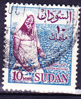 Sudan - Baumwollpflückerin(MiNr: 180 X) 1962 - Gest Used Obl - Sudan (1954-...)