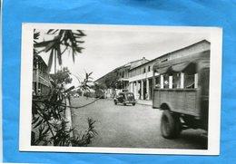 Cote D'ivoire ABIDJAN-Rue Du Commerce-années 50 -édition Robillard - Ivory Coast