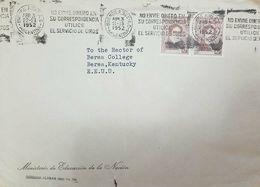 O) 1952 ARGENTINA, RIVADAVIA SC A137 - NO ENVIE DINERO EN SU CORRESPONDENCIA UTILICE EL SERVICIO DE GIROS-DO NOT SEND MO - Argentina