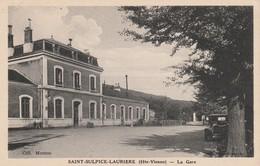 87 - SAINT SULPICE LAURIERE  - La Gare - France