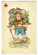 Scout En Sac à Dos - 2 Scans - Scoutisme