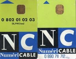 2 CARTES A PUCE  DECRYPTAGE TV  Numéricable - France
