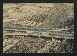Saudi Arabia Picture Postcard Aerial View Of Muna Mina  View Card - Saudi Arabia