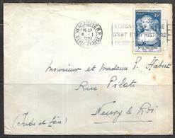 LF A70  Lettre De 1951 De Versailles Timbre N°874 - 1921-1960: Période Moderne