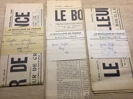"""Journaux """"Le Bouilleur De France"""" - Unclassified"""