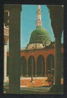 Saudi Arabia Old Picture Postcard Green Dome Holy Mosque Medina  Madina View Card - Saudi Arabia